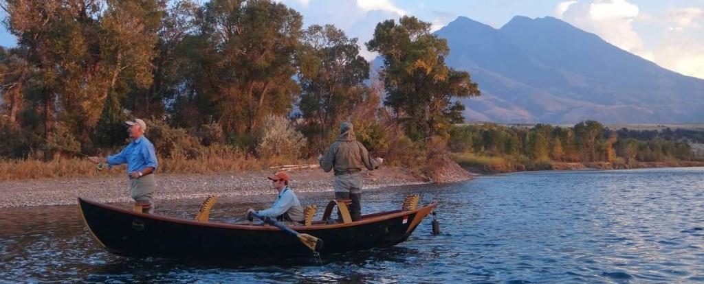 Sunset Fly Fishing The Yellostone